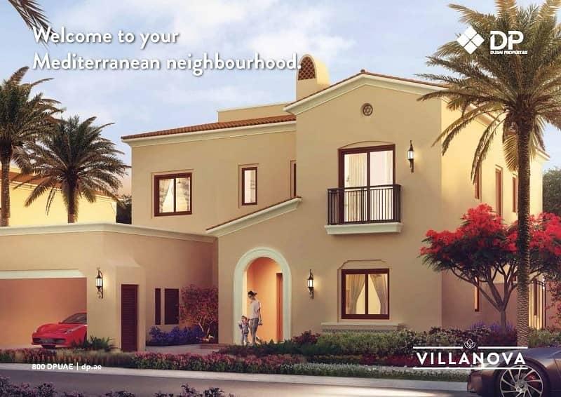 2 3BR Amaranta Townhouses |Post Payment Plan
