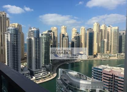 فلیٹ 2 غرفة نوم للايجار في دبي مارينا، دبي - شقة في برج زمرد دبي مارينا 2 غرف 102000 درهم - 3762991