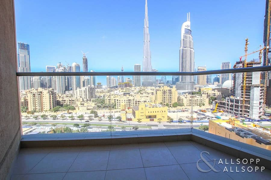 Burj Khalifa View | Vacent | 2 Balconies