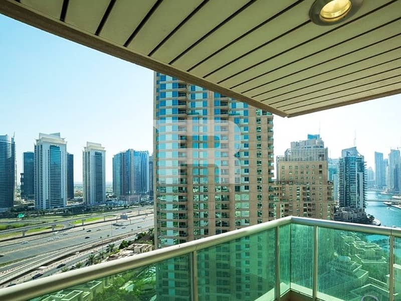 1 BR+study prime location EMAAR 6 TOWERS