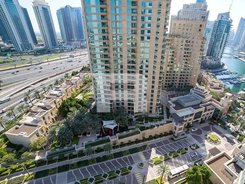2 1 BR+study prime location EMAAR 6 TOWERS
