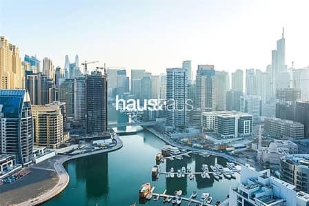 فلیٹ 2 غرفة نوم للبيع في دبي مارينا، دبي - Off-Plan l Full Marina View l High Floor