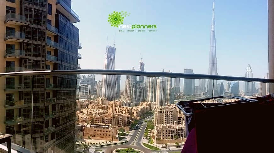 1 Full Burj Khalifa View | 3 Bedroom +Maid