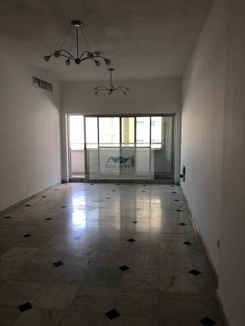 IN FRONT OF AL NAHDA METRO 2BHK WITH MAID ROOM ONLY FOR FAMILIES WITH ALL AMENITIES AVAIL IN 80K