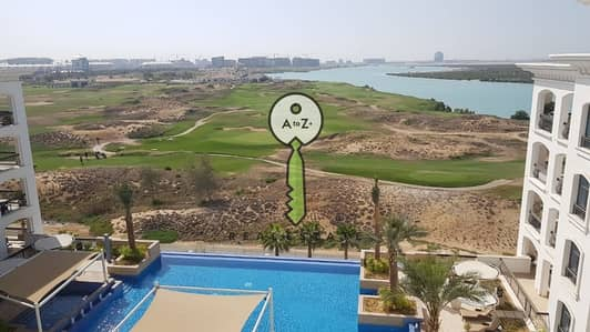 2 Bedroom Apartment for Rent in Yas Island, Abu Dhabi - HOT DEAL! Pool and Golf View in Ansam.