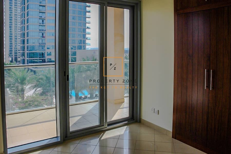 2 Full Pool View I 2 BR I  Vacant I Golf Tower 1