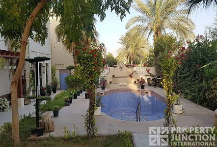 4 Bedroom Villa for Rent in The Meadows, Dubai - Fully Upgraded | Furnished | Private Pool
