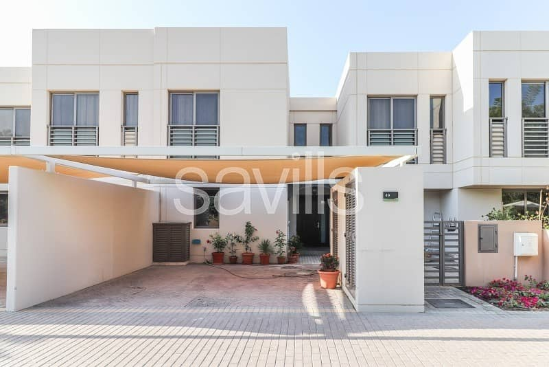 Four bed townhouse with bedroom on GF