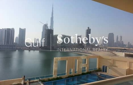 Exclusive 2 BR Canal and Burj Khalifa view