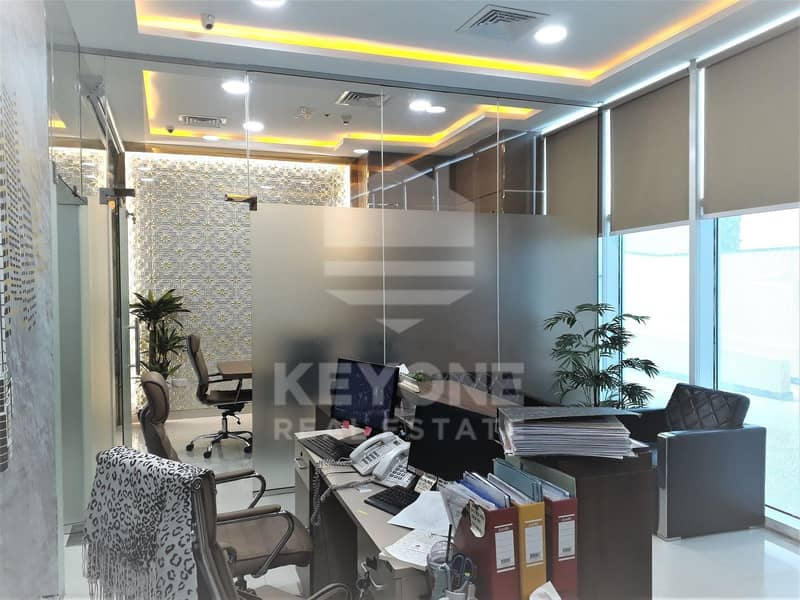 Oxford Tower | Fully Fitted with Glass Partition | Bayut com