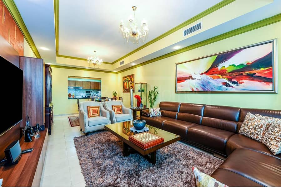 2 3BHK+MAID/FULLY FURNISHED/RENT/JLT/LAKE VIEW