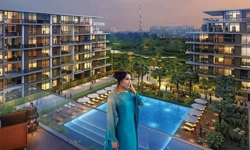 3 Bedroom Flat for Sale in Dubai Hills Estate, Dubai - Pool View