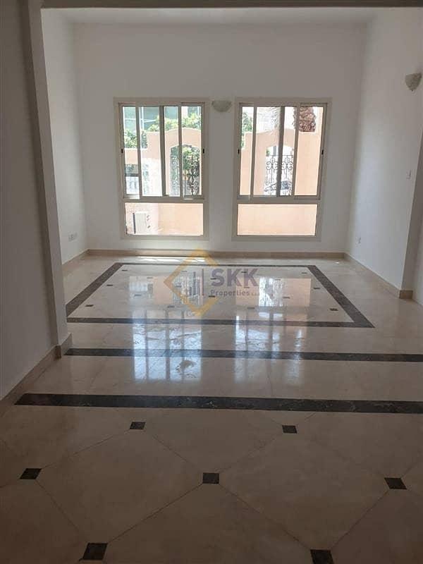 Corner 3+M villa in Mushrif Garden compd