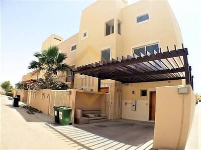 4 Bedroom Townhouse for Rent in Al Raha Gardens, Abu Dhabi - 4 Payments |4+M Townhouse w/ Big Terrace