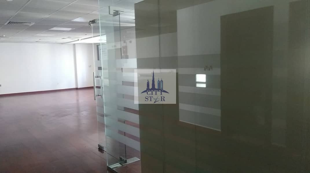 2 Upgraded Vacant office with Burj view in Aspect (Executive) tower