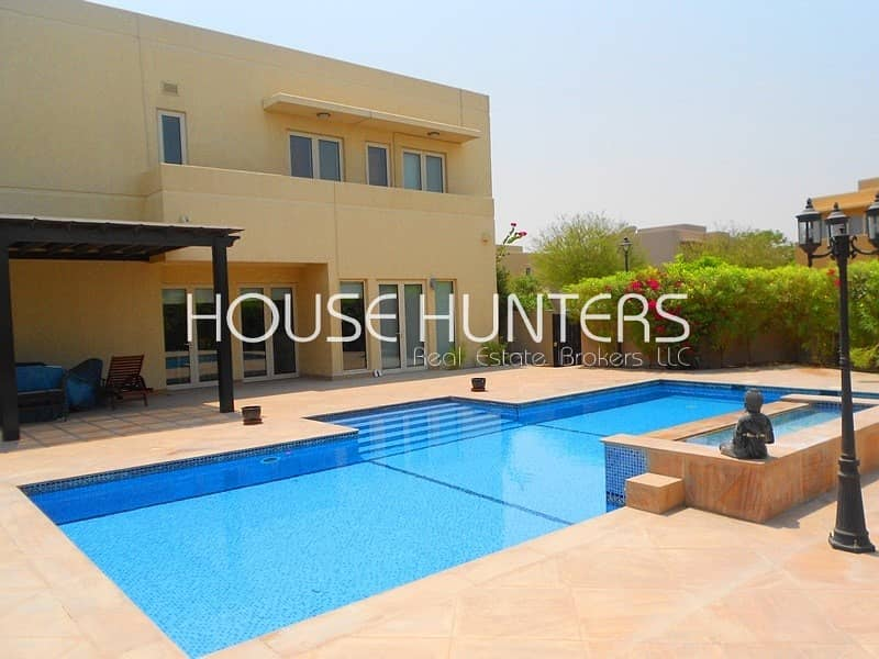 Stunning  5BR | Private pool | Large plot