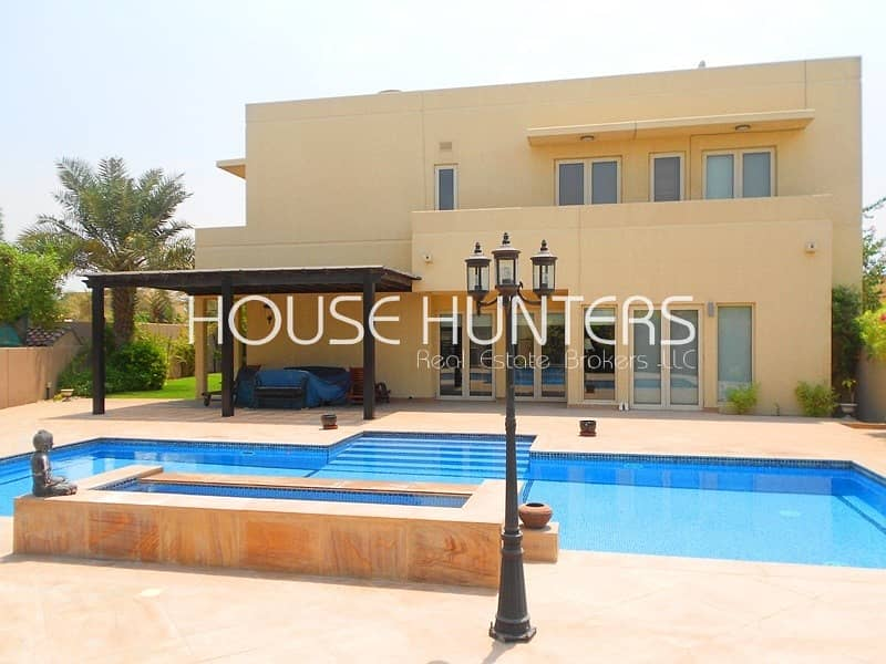 2 Stunning  5BR | Private pool | Large plot