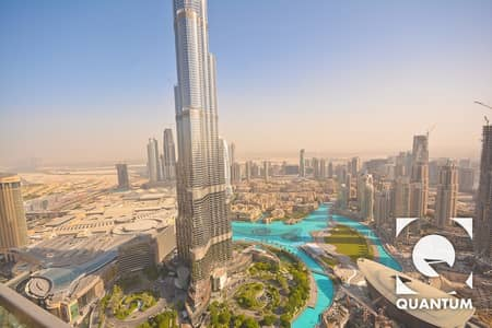 3 Bedroom Apartment for Rent in Downtown Dubai, Dubai - Immaculate   Brand New   Full Burj View.