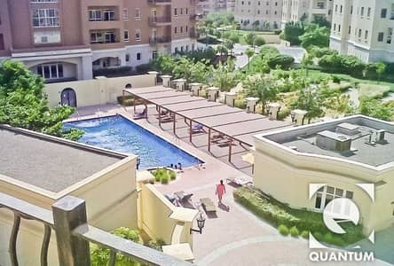 1 Bedroom Apartment for Sale in Motor City, Dubai - Pool View | Norton Court | VOT Property.