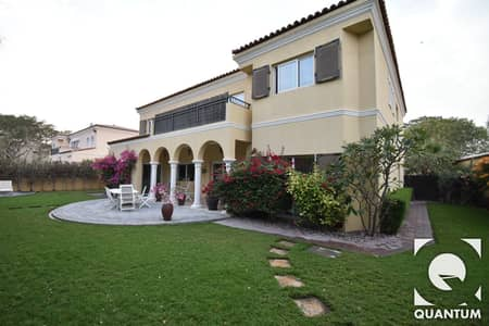 5 Bedroom Villa for Sale in Green Community, Dubai - Immaculate Villa in Top Location by Pool