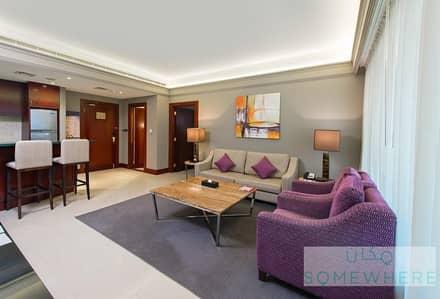شقة فندقية 1 غرفة نوم للايجار في ديرة، دبي - Superior One Bedroom Fully Furnished Apartment in Deira