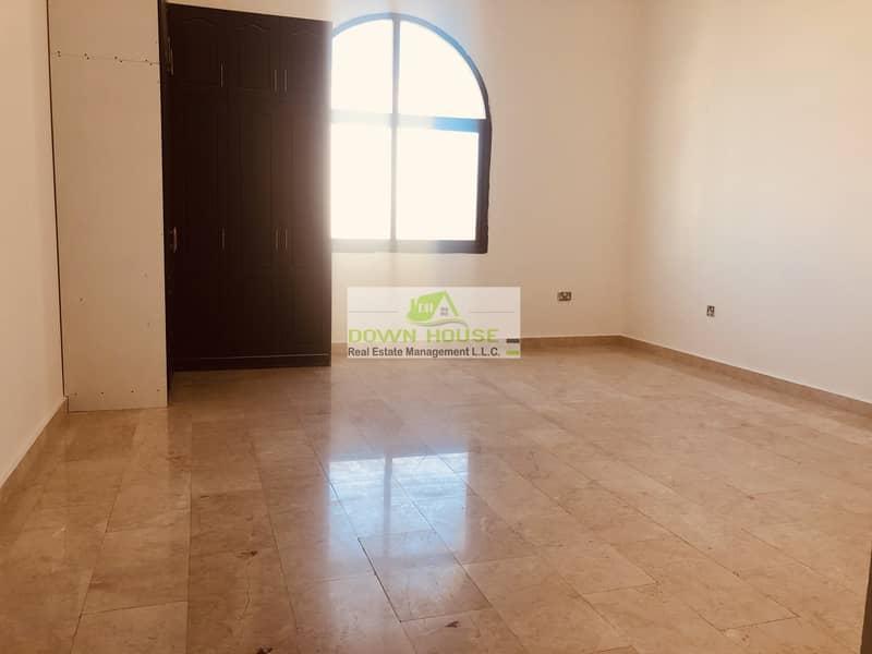 2 Neat huge studio flat in khalifa city A .