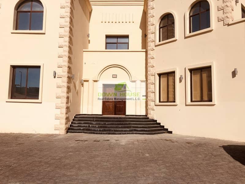 11 Neat huge studio flat in khalifa city A .