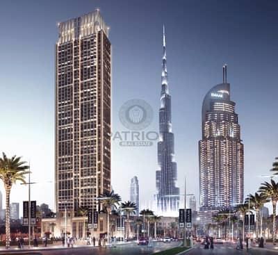 فلیٹ 2 غرفة نوم للبيع في وسط مدينة دبي، دبي - Burj Khalifa View|Flexible Payment plan|5% Booking
