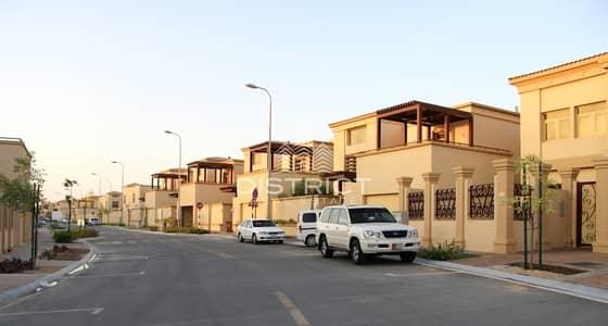 فیلا 5 غرفة نوم للايجار في حدائق الجولف في الراحة، أبوظبي - Luxurious 5 BR with Pool in Golf Gardens