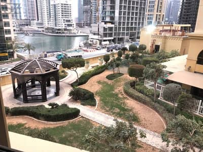 2 Bedroom Apartment for Rent in Jumeirah Beach Residence (JBR), Dubai - 2 bedroom with Marina View