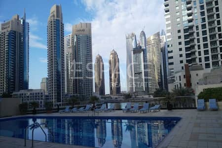 1 Bedroom Flat for Rent in Dubai Marina, Dubai - Well Maintained - Furnished - Multiple Chqs