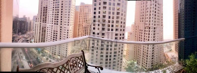 1 Bedroom Flat for Sale in Dubai Marina, Dubai - Beautiful 1 BR with Partial Sea view