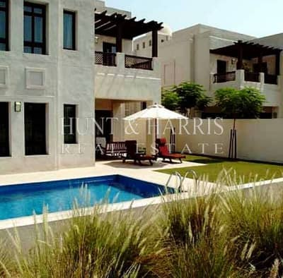 Special Offer: Private Pool: Fully Serviced: 4 Beds + Maid: Dubai Creek Golf and Yacht Club