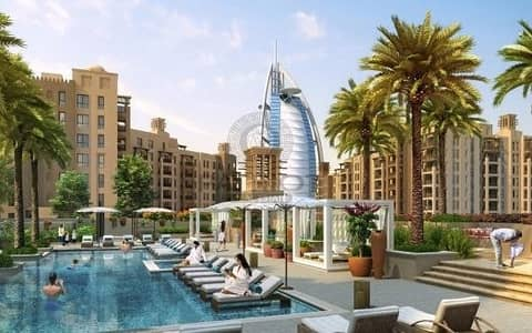 2 Bedroom Apartment for Sale in Umm Suqeim, Dubai - 2 BEDROOM FOR SALE MADINAT JUMEIRAH LIVING FIRST FREE HOLD