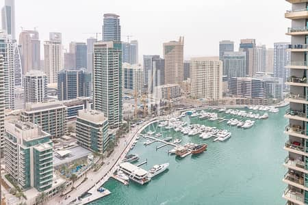 1 Bedroom Flat for Sale in Dubai Marina, Dubai - Bright 1BR with Fantastic View to Marina