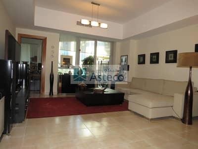 1 Bedroom Apartment for Rent in Dubai Marina, Dubai - Bright and Spacious 1 Bedroom in Marina