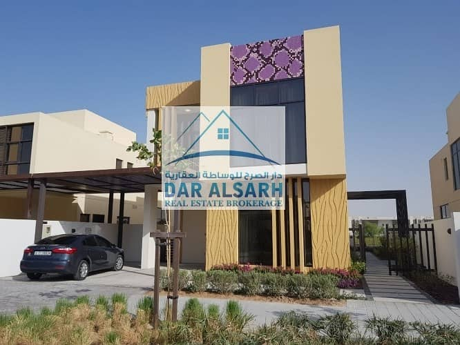 Own a new villa in Dubai and monthly installment in the highest residential complex