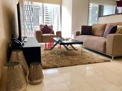 1 Bedroom Flat for Rent in Dubai Marina, Dubai - Fully Furnished| Mid Floor | Marina View