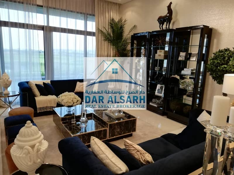 28 Owned a luxury villa ready in Dubai and installment after receiving two years