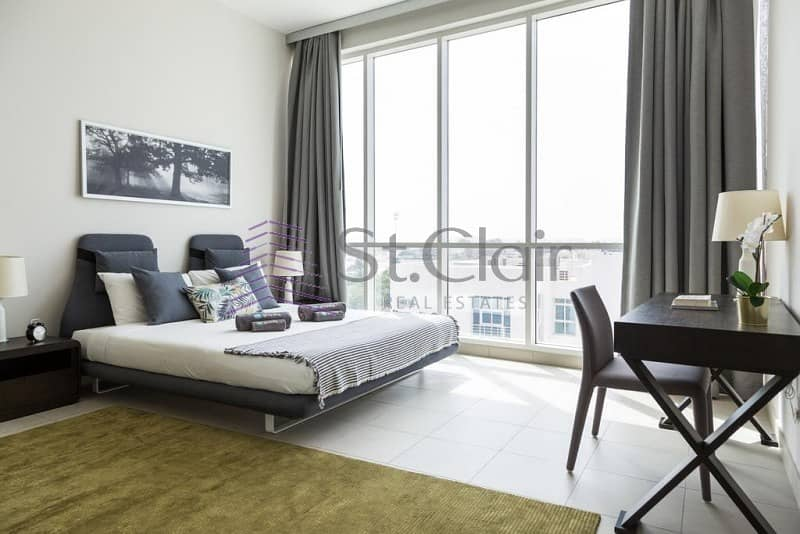 Furnished 1BR in Hilliana Tower | Sea View