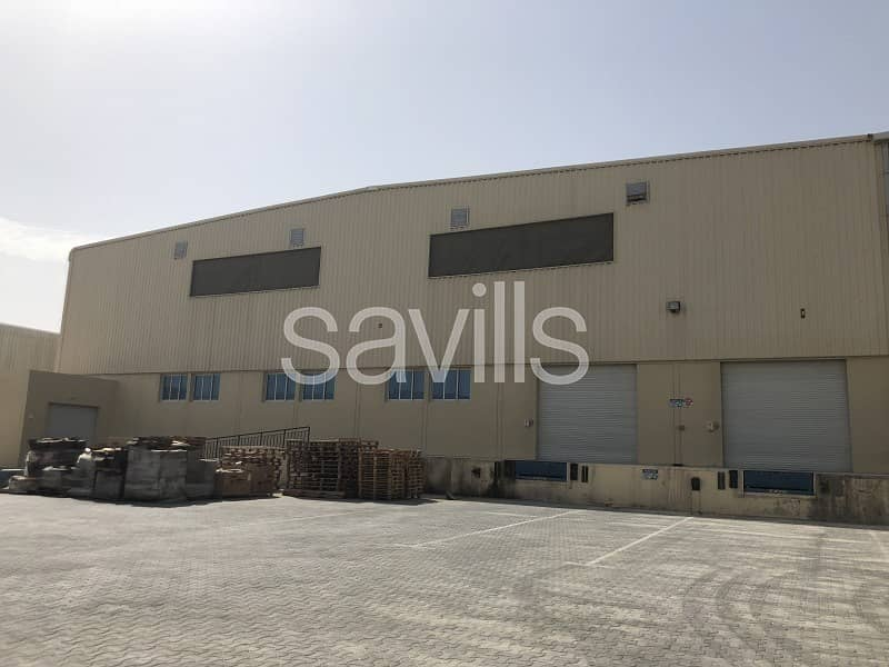 Logistics Facility | 8 docks | JAFZA South