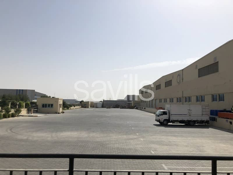 2 Logistics Facility | 8 docks | JAFZA South