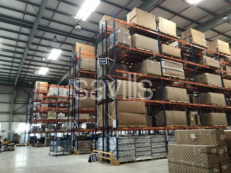 11 Logistics Facility | 8 docks | JAFZA South
