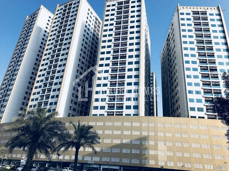 Open View!!  Spacious 1 BHK Flat for Rent in Pearl Towers, Ajman