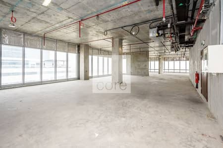 Office for Rent in Al Bateen, Abu Dhabi - Shell and core office excellent parking