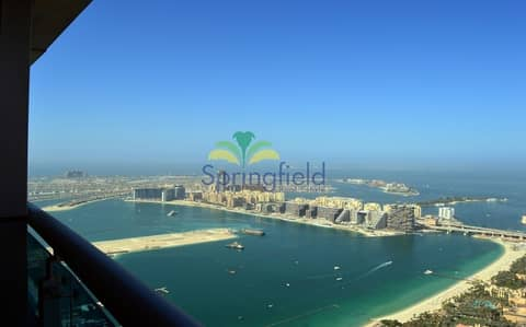 Wide Space 1BR + Balcony | Full Sea View