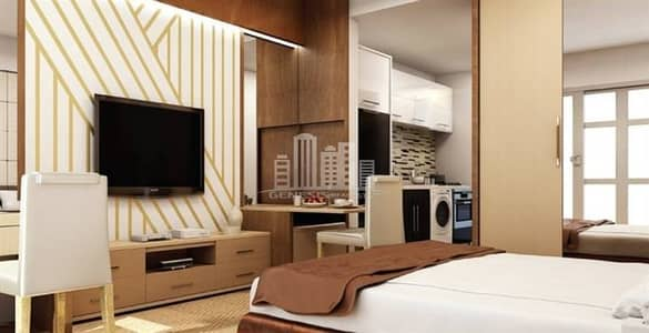 Elegant Studio | Serviced Apartment - Al Furjan!