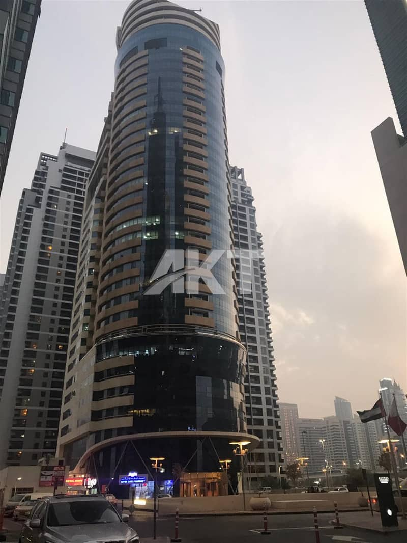 Only 100 K/semi  Furnished Office for Rent/Fortune Executive Tower
