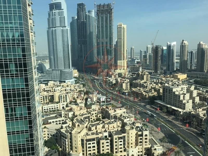 10 High Floor 3BR+Maids I Full Burj and Fountain View
