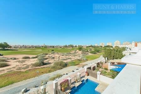 4 Bedroom Townhouse for Rent in Al Hamra Village, Ras Al Khaimah - Golf Views Family Home - Al Hamra Village
